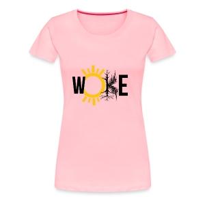 WOKE - Conscious living for the free thinking - Women's Premium T-Shirt