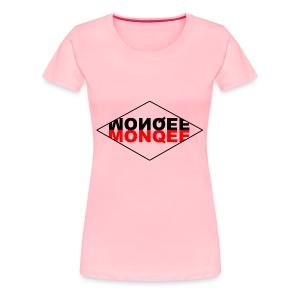 BLACK AND RED - Women's Premium T-Shirt