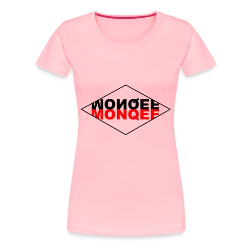 BLACK AND RED - Women's Premium T-Shirt