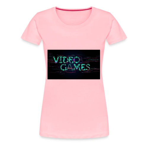 Video games - Women's Premium T-Shirt