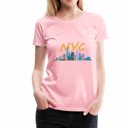 New york my love - Women's Premium T-Shirt