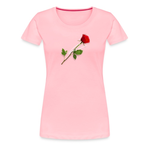 L3møn rose - Women's Premium T-Shirt