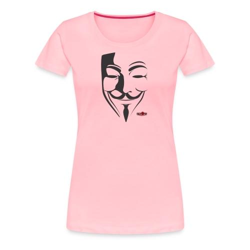 HACK4FUN Guy Fawkes - Women's Premium T-Shirt