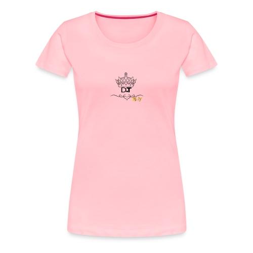 D T Logo - Women's Premium T-Shirt