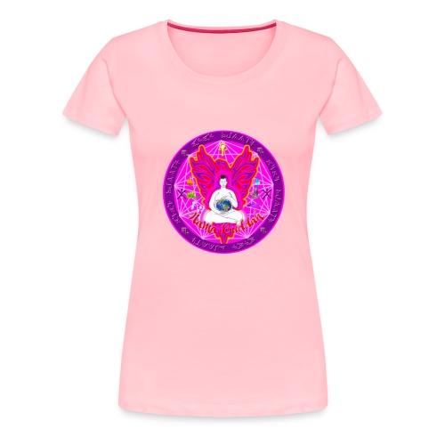 Mama Buddah Mandala - Women's Premium T-Shirt