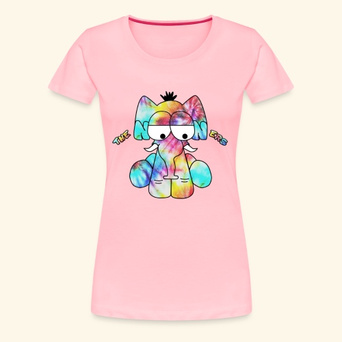 The Nooners Elephant Design - Women's Premium T-Shirt