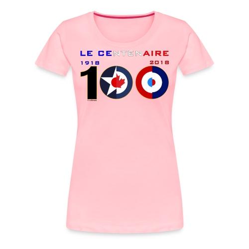 CENTCOCARDES_1805_US - Women's Premium T-Shirt
