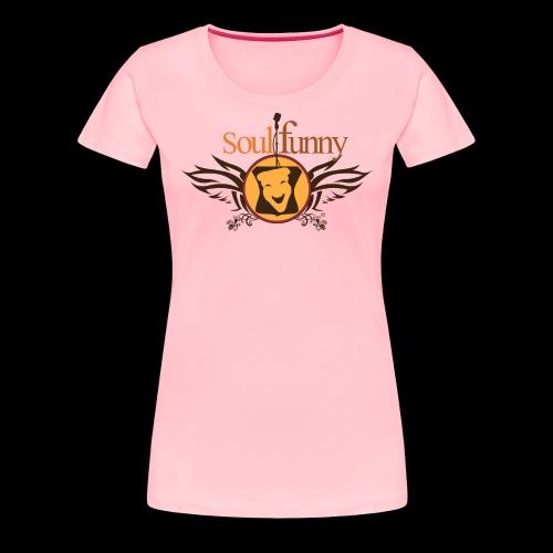 Soulfunny Logo - Women's Premium T-Shirt