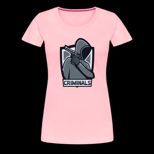 Criminals OG Logo - Women's Premium T-Shirt