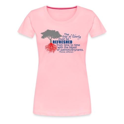 tree of liberty - Women's Premium T-Shirt