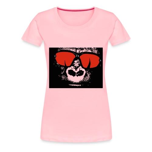 gorilla primate ape - Women's Premium T-Shirt