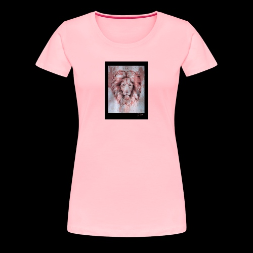 Esoteric Designs ~ Lion - Women's Premium T-Shirt