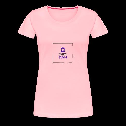 35DD Gal - Women's Premium T-Shirt