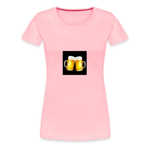 Beer Mugs - Let's Cheers! - Women's Premium T-Shirt