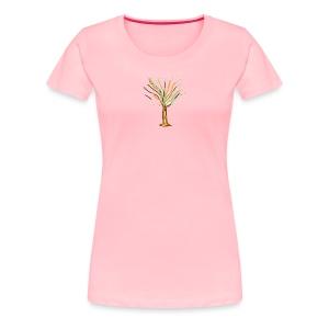 Tree Of Imagination - Women's Premium T-Shirt