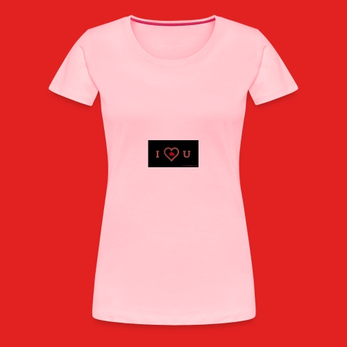 Love you - Women's Premium T-Shirt