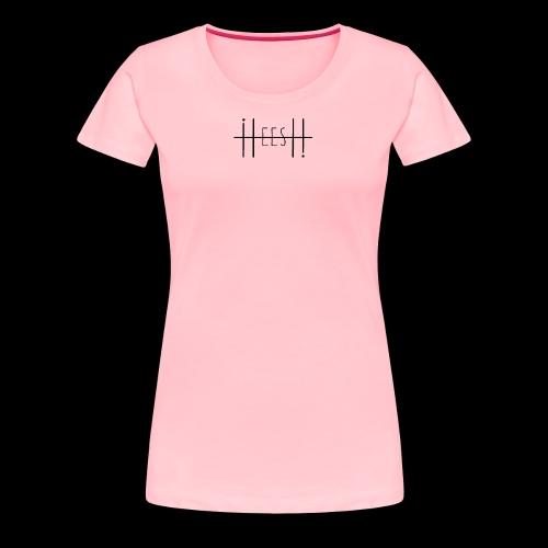 BLACK HEESH LOGO - Women's Premium T-Shirt