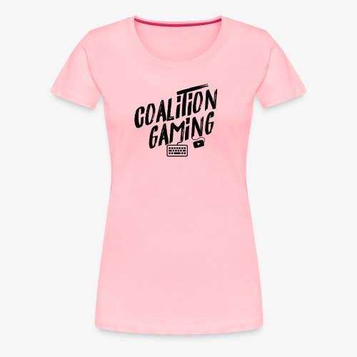 CG shirt design1 BLACK - Women's Premium T-Shirt