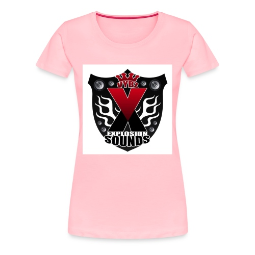 Vybz X Explosion Sounds Logo - Women's Premium T-Shirt