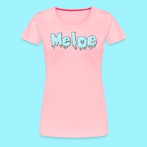 Meloe Drip Drop Logo - Women's Premium T-Shirt