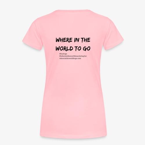 @ourhandles - Women's Premium T-Shirt