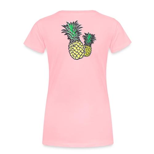 Retro Pineapple - Women's Premium T-Shirt