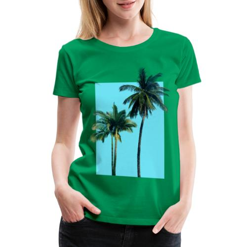 Palms - Women's Premium T-Shirt