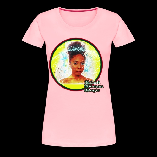 Black Woman Magic - Women's Premium T-Shirt
