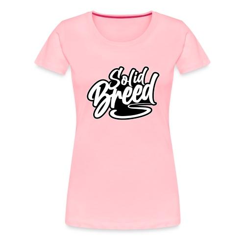 Solid Breed Contemporary Black Logo - Women's Premium T-Shirt