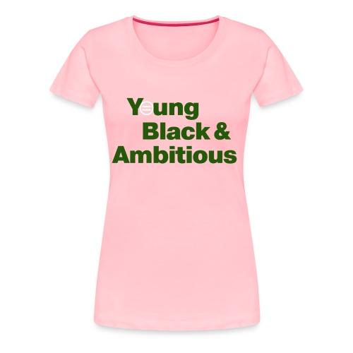 YBA PinkandGreen2 - Women's Premium T-Shirt