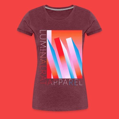 Retro bar graph - Women's Premium T-Shirt