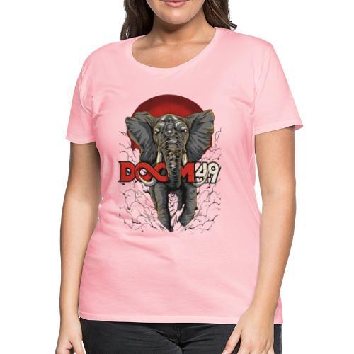 Clear Smoke Elephant by DooM49 - Women's Premium T-Shirt