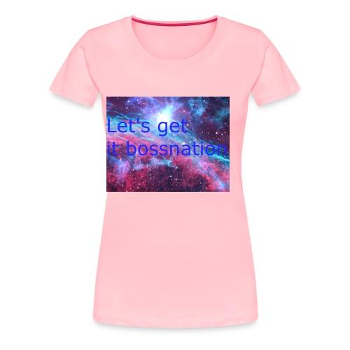 boss360 merch - Women's Premium T-Shirt