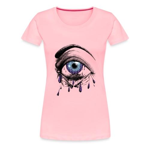 Lightning Tears - Women's Premium T-Shirt