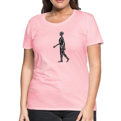 Skeleton Human - Women's Premium T-Shirt