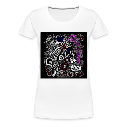 Skitzo The Clown - Women's Premium T-Shirt