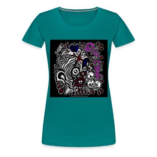 Skitzo The Clown - Women's Premium T-Shirt