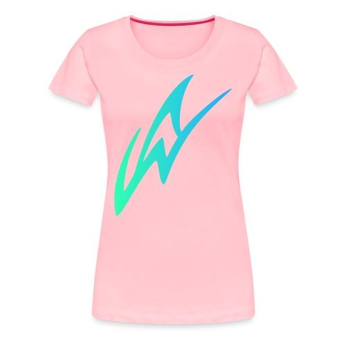 AW Studios Large Logo - Women's Premium T-Shirt