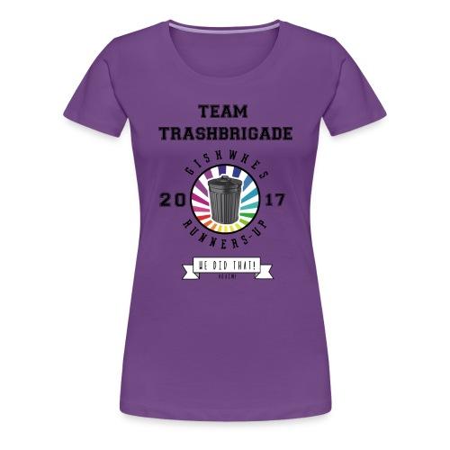 TrashBrigade 2017 - Women's Premium T-Shirt