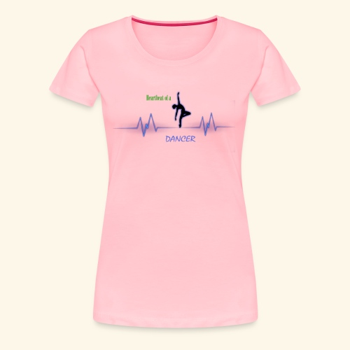 heartbeatdancer1 - Women's Premium T-Shirt