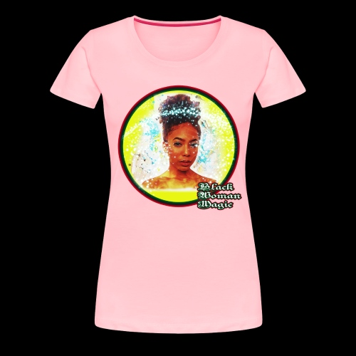 Black Woman Magic - Women's Premium T-Shirt