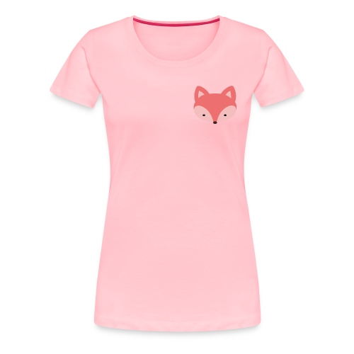 Fox Gift Logo - Women's Premium T-Shirt