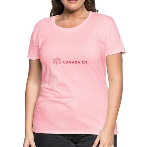 Canada 151 - Women's Premium T-Shirt
