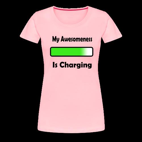 awesomenessgreen - Women's Premium T-Shirt
