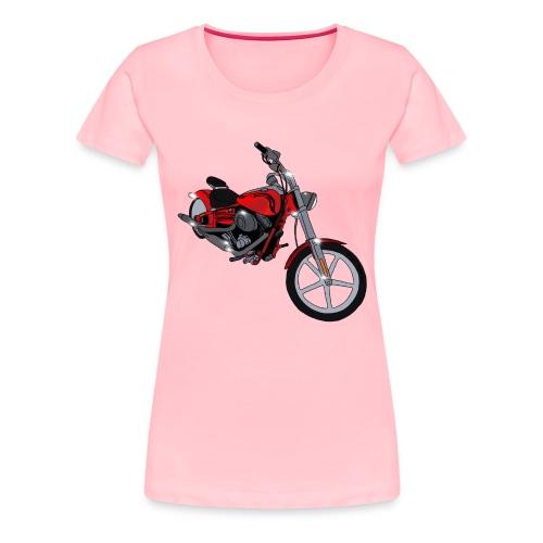 Motorcycle red - Women's Premium T-Shirt