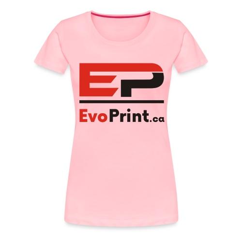 Evo_Print-ca_PNG - Women's Premium T-Shirt