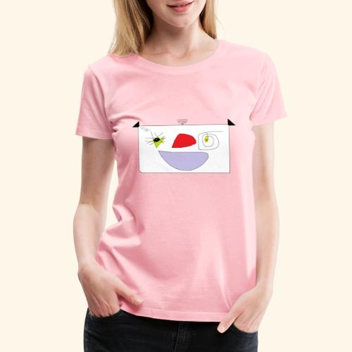 Cute cartoon. - Women's Premium T-Shirt
