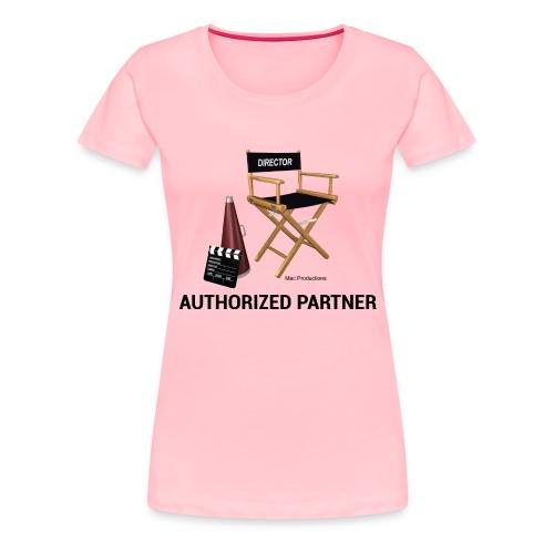 Mac Productions Authorized Partner Logo - Women's Premium T-Shirt