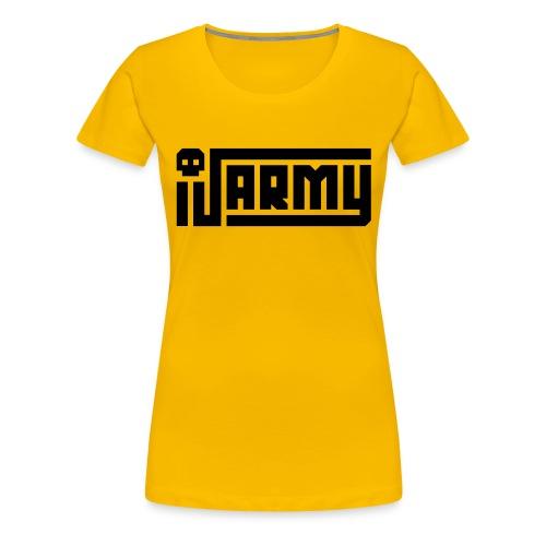 iJustine - iJ Army Logo - Women's Premium T-Shirt