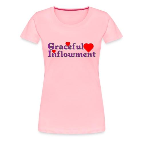 Graceful Inflowment - Women's Premium T-Shirt